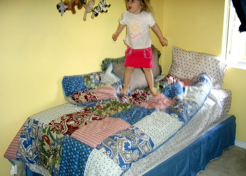 Big Girl Bed Saga